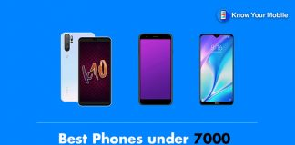 Best Phones under 7000 in India