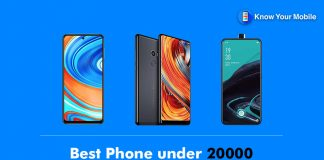 Best Phone under 20000 in India
