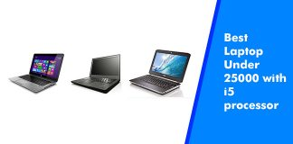 Best Laptop Under 25000 with i5 processor
