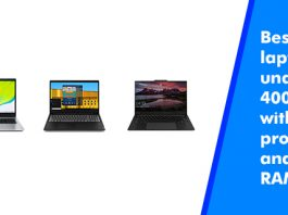 Best Laptop under 40000 with i5 Processor and 8 GB RAM